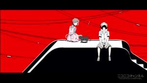 アニメ4話 また公園で ヒヨリとヒビヤ
