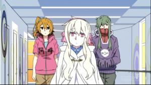 アニメ8話 マリーとモモとキド