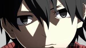 アニメ8話 シンタローの顔が変わる
