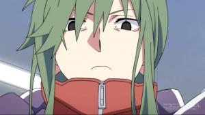 アニメ8話 キドが驚く
