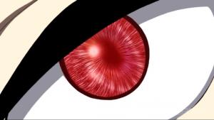 アニメ8話 赤い目のヒビヤ
