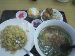 仙北市角館/台湾料理・百福宴/炒飯定食