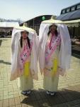 2014年4月・道の駅おがち周年祭の小町娘