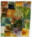 パウル・クレー「ある庭の記憶」