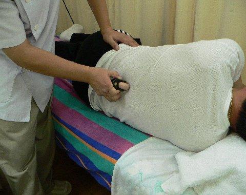 ビューティーで腰部を治療