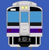 正面 701系