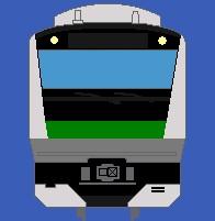 正面 埼京線