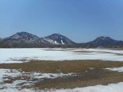 4月24日の川湯三山