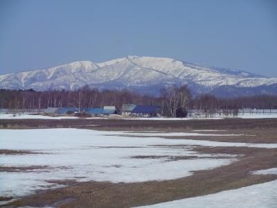 4月24日の藻琴山