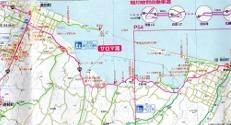 サロマ湖三里浜付近
