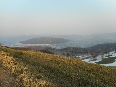 26日午前の屈斜路湖