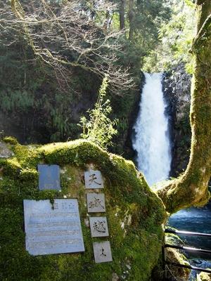 浄蓮の滝と天城越え歌碑