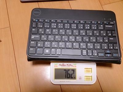 Venue、レザーケースとキーボードの重さ