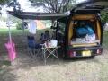 阿蘇キャンプ場にて2