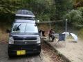 鹿野キャンプ場にて1