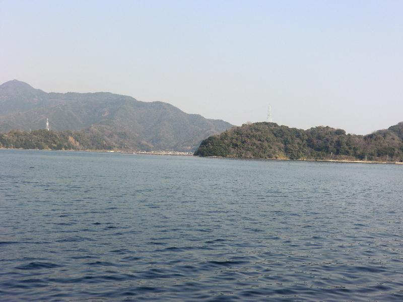 大入島にて2