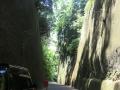岩隈山の切り通し1
