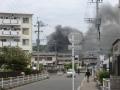 福岡での火事1