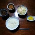 民宿の夕食3
