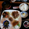 「たぬき」唐谷定食