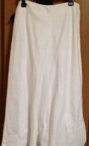 白麻スカート