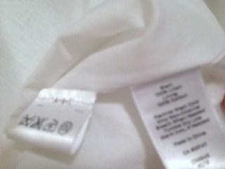 白スカート製品表示