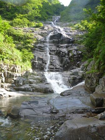 5十字峡と抱え返り滝