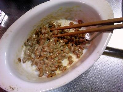 納豆ぐるぐる