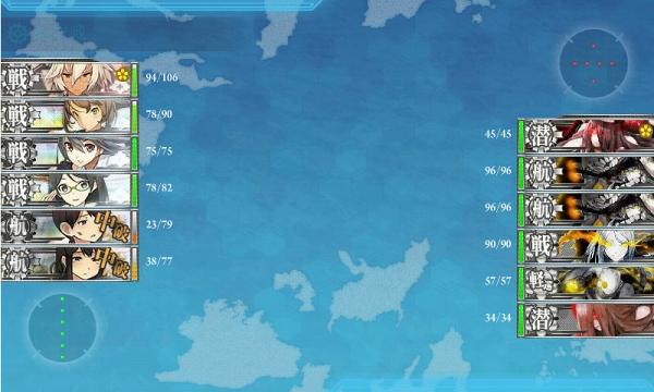 春イベ 2014 E-5 3戦目