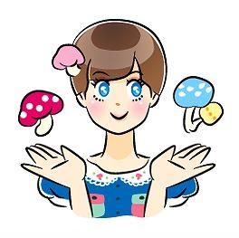 きのこガーリー「粘菌丸きの子」1