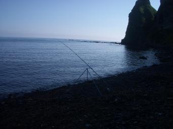 セタカムイで釣り