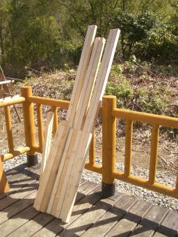 垂木のカット