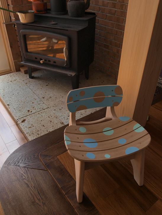 曲げ木子供椅子ブログ10