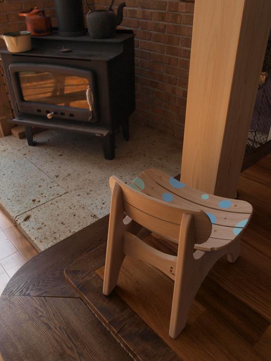 曲げ木子供椅子ブログ11