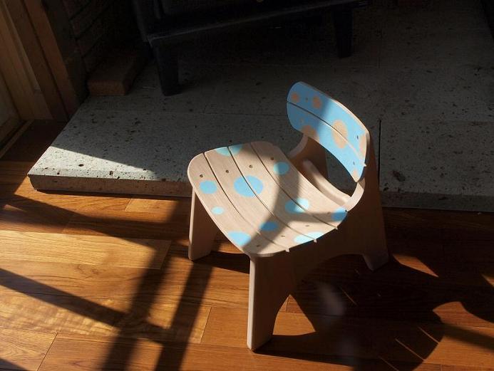 曲げ木子供椅子ブログ7