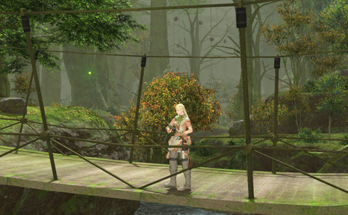 東部森林:青翠の奈落