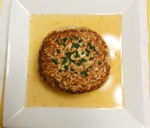 スープハンバーグ包みチャーハン9
