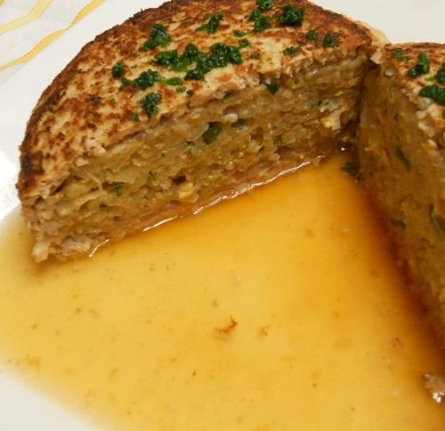 スープハンバーグ包みチャーハン11