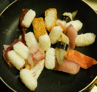 寿司チャーハン2