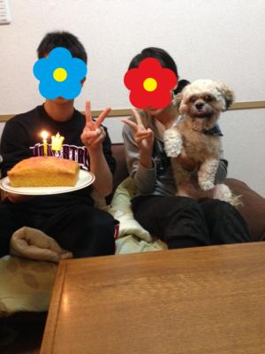 yuzuの1歳のお誕生日