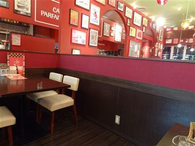 キャッツカフェの店内の様子