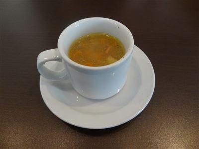リッカリーナランチのスープ
