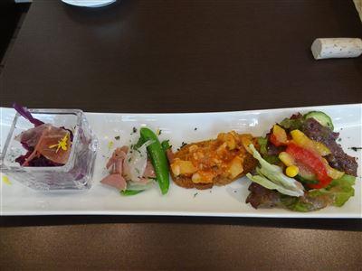リッカリーナランチの前菜