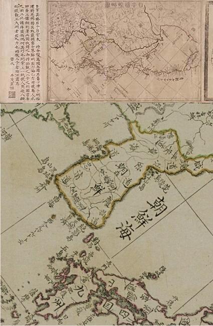 日本辺界略図