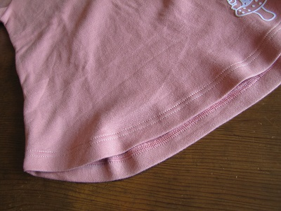 ラウンド裾