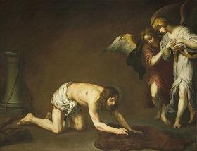バルトロメ・エステバン・ムリーリョ『鞭打ちの後のキリスト