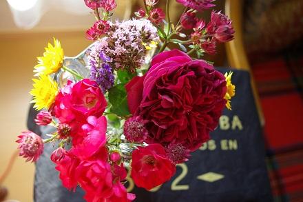 最後を飾ったお花たち♪