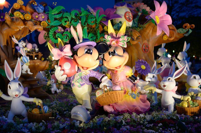 ディズニー・イースター ミッキーとミニーとウサギたち