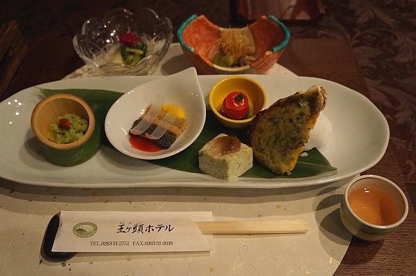 王ヶ頭夕食1