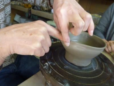 陶芸教室・先生